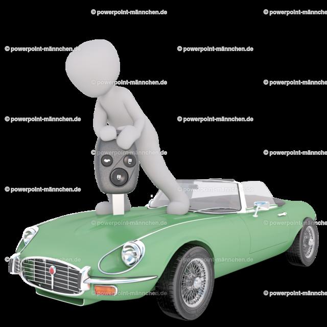 man standing above the green car (2)   https://3dman.eu jetzt 250 Bilder gratis sichern