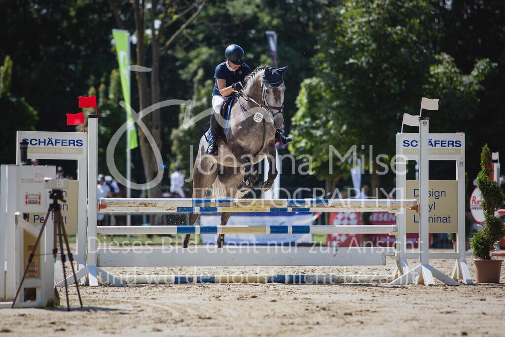 200819_Delbrück_Sprpf-A_2_1-203 | Delbrück Masters 2020 Springpferdeprüfung Kl. A** 4-6jährige Pferde