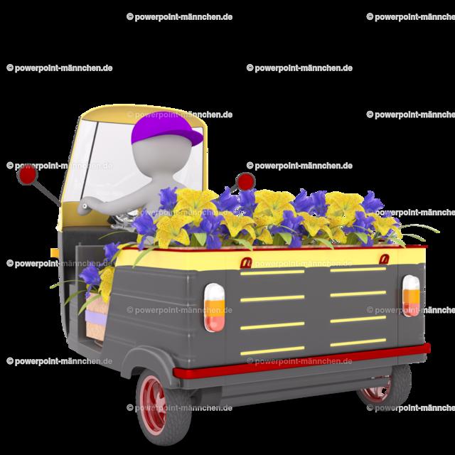 man delivering flowers   https://3dman.eu jetzt 250 Bilder gratis sichern