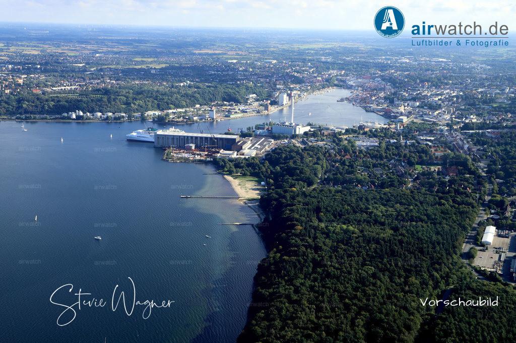 Luftbild Flensburger Foerde, Flensburg Wassersleben, Binnenhafen | Flensburger Foerde, Flensburg Wassersleben, Binnenhafen • max. 6240 x 4160 pix