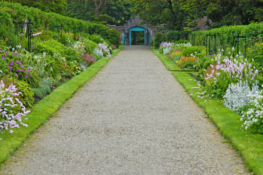 Lebensweg 07 | Cottage Garten Kylemore Abbey Gardens, Letterfrack, Irland