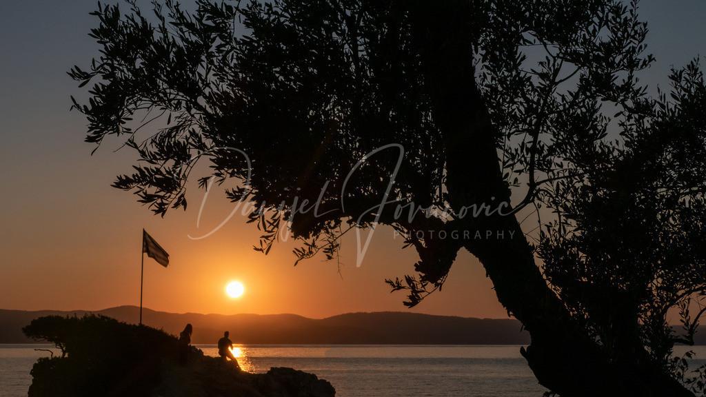 Sonnenuntergang | Sonnenuntergang am Kechria Beach, Skiathos