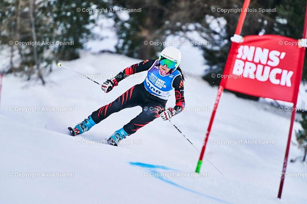 ALS5617_WWMG_GS-II_C | (C) FotoLois.com, Alois Spandl, WinterWorldMastersGames 2020 Innsbruck, Giant Slalom-II Gruppe C Damen, Patscherkofel Olympiaabfahrt, Mi 15. Jänner 2020.