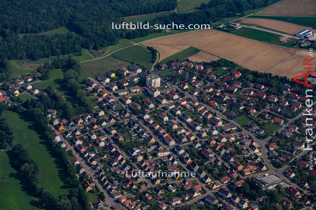 uffenheim-19-754 | aktuelles Luftbild von  Uffenheim - Luftaufnahme wurde 2019 von https://frankenair.de mittels Flugzeug (keine Drohne) erstellt.