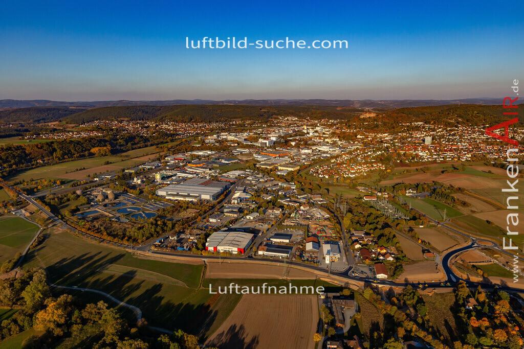 gewerbegebiet-kulmbach-18-365 | aktuelles Luftbild von Gewerbegebiet Kulmbach - Luftaufnahme wurde 2018 von https://frankenair.de mittels Flugzeug (keine Drohne) erstellt.
