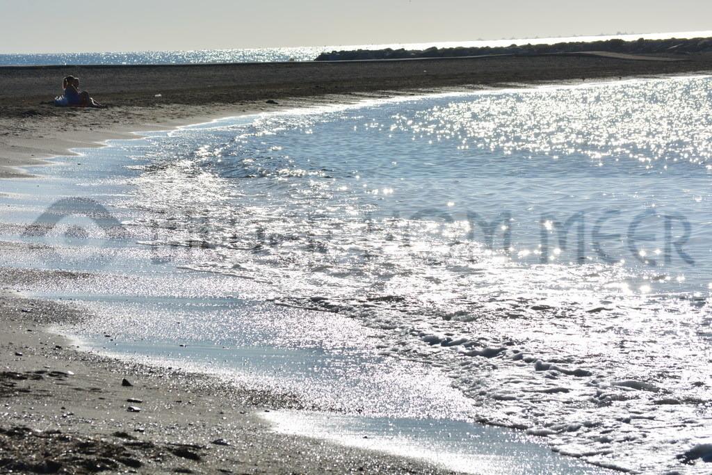 Strand Bilder | Morgenspatziergang am Strand von Malaga