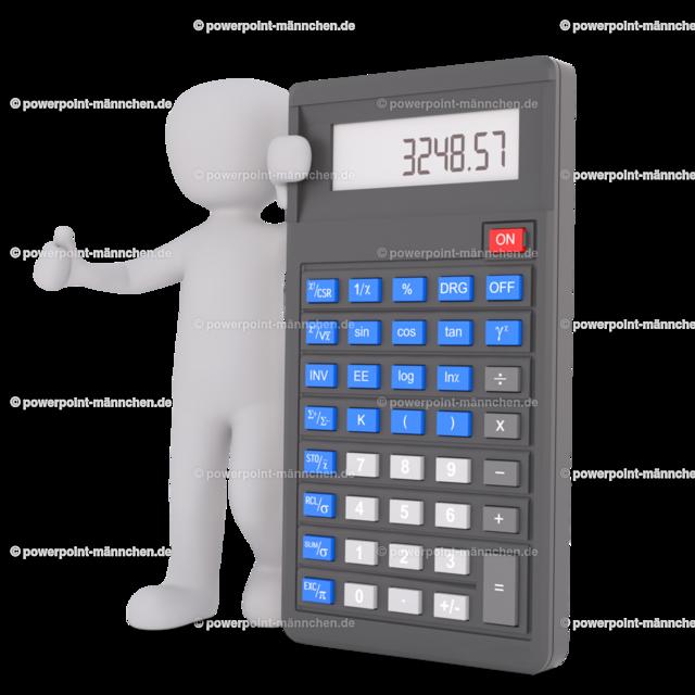 accountant with calculator | https://3dman.eu jetzt 250 Bilder gratis sichern