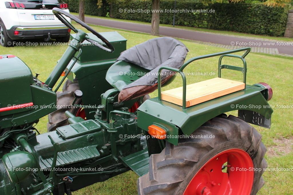 Bautz AS 122 B Traktor, Schlepper, 1956 | Bautz AS 122 B Traktor, Schlepper, grün, Kennzeichen JL DB 7, Baujahr 1956, Bauzeit: 1952-1960, Motortyp: MWM AKD 112 E, Deutschland, BRD