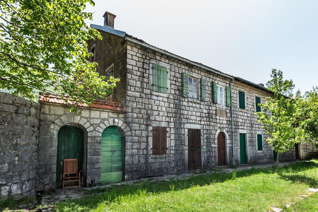 Altes Bauernhaus in Montenegro