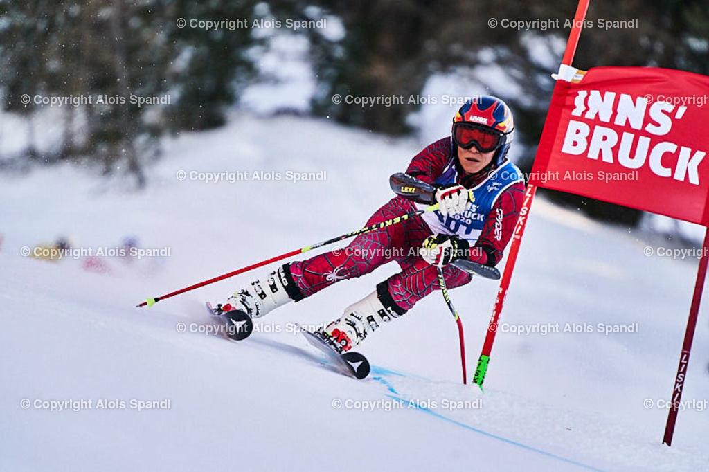 ALS5978_WWMG_GS-II_C | (C) FotoLois.com, Alois Spandl, WinterWorldMastersGames 2020 Innsbruck, Giant Slalom-II Gruppe C Damen, Patscherkofel Olympiaabfahrt, Mi 15. Jänner 2020.