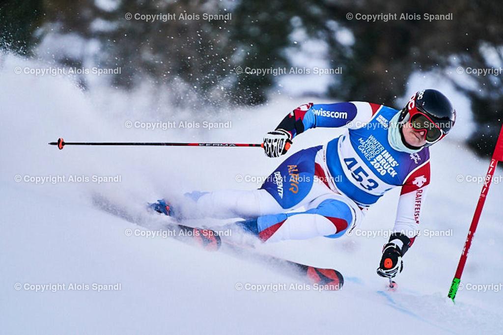 ALS5952_WWMG_GS-II_C   (C) FotoLois.com, Alois Spandl, WinterWorldMastersGames 2020 Innsbruck, Giant Slalom-II Gruppe C Damen, Patscherkofel Olympiaabfahrt, Mi 15. Jänner 2020.