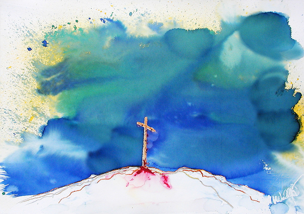 Kreuz auf Golgatha | Der Tag, an dem ein Sturm im Himmel war, ist geheimnisvoll, er hat das Schicksal der Menschen verändert.