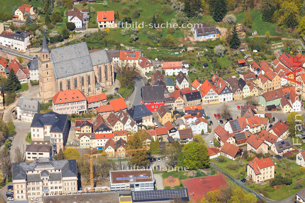 luftbild-kulmbach-2016-6438 | Luftbild von  Kulmbach - Luftaufnahme wurde 2016 von https://frankenair.de mittels Flugzeug (keine Drohne) erstellt - die Geschenkidee