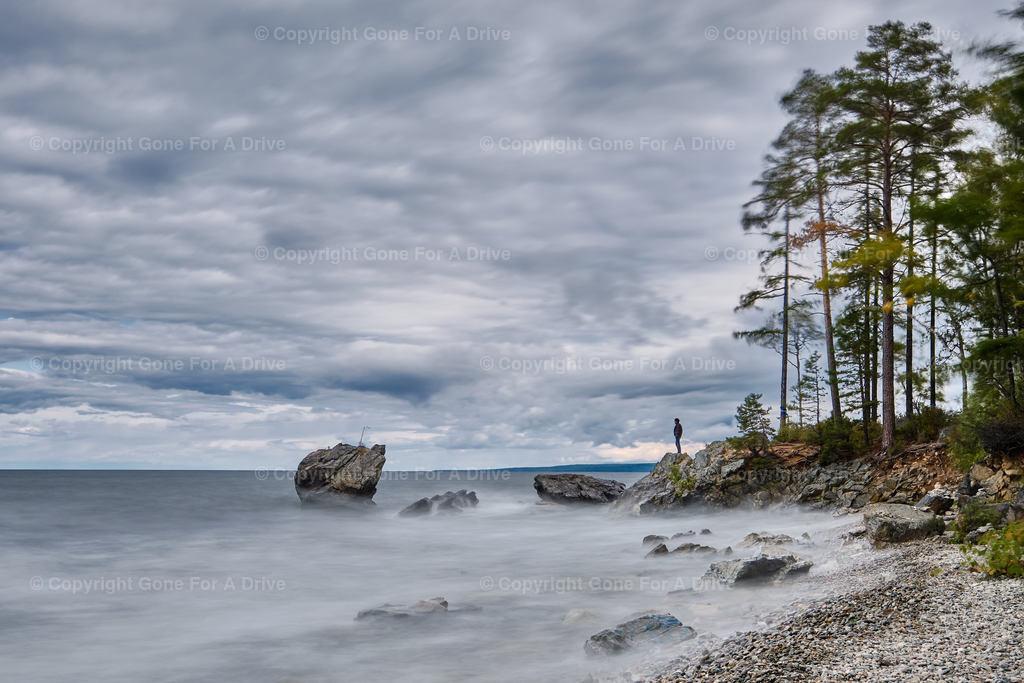 Russland | Der Turtle Rock im Baikalsee in Sibirien