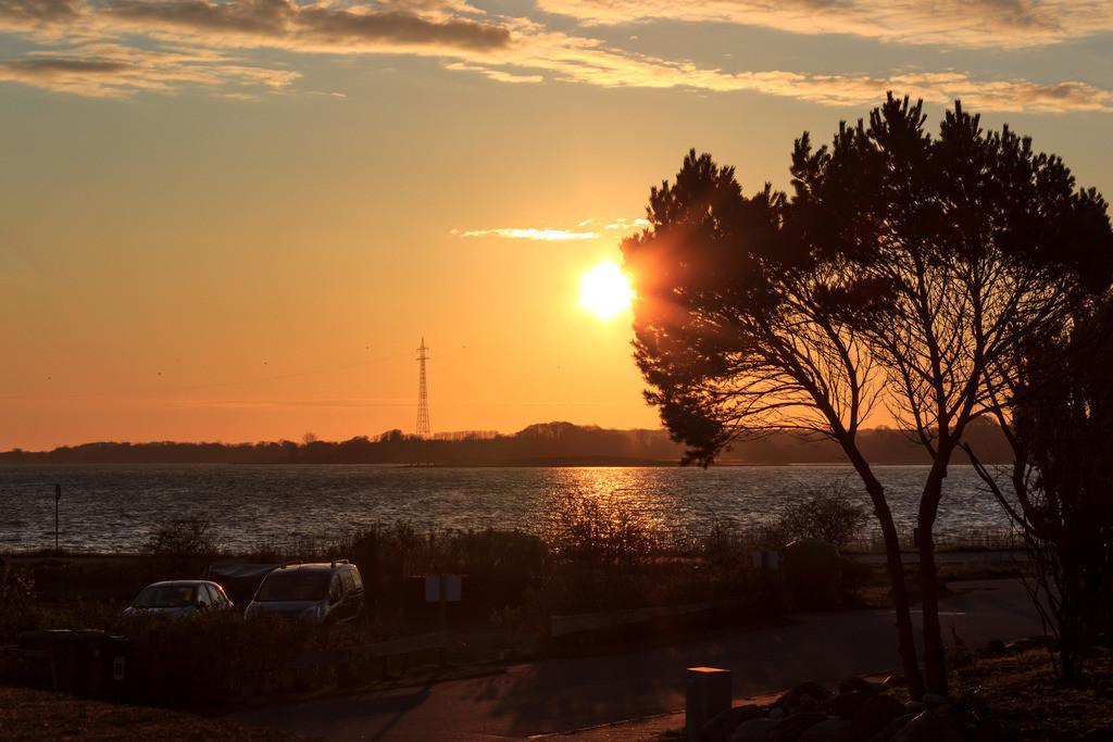 Lindaunis an der Schlei | Sonnenaufgang in Lindaunis