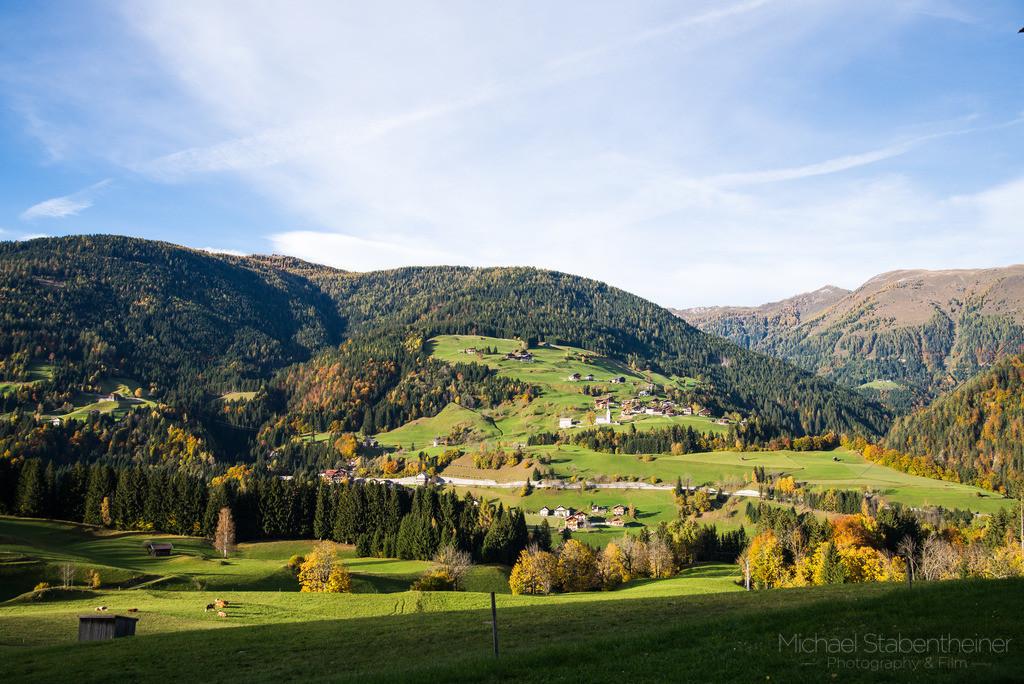 Lesachtal | Aufnahme von Birnbaum im Lesachtal im Herbst
