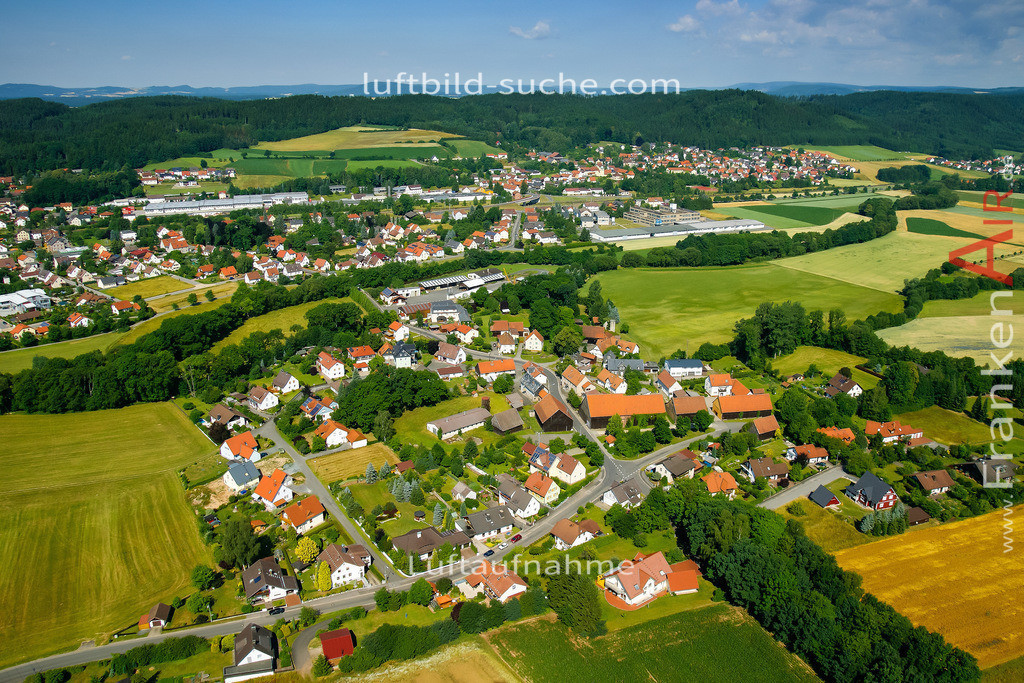 wolfersdorf-stockheim-2008-24   Luftbild von Wolfersdorf Stockheim - Luftaufnahme wurde 2008 von https://frankenair.de mittels Flugzeug (keine Drohne) erstellt - die Geschenkidee