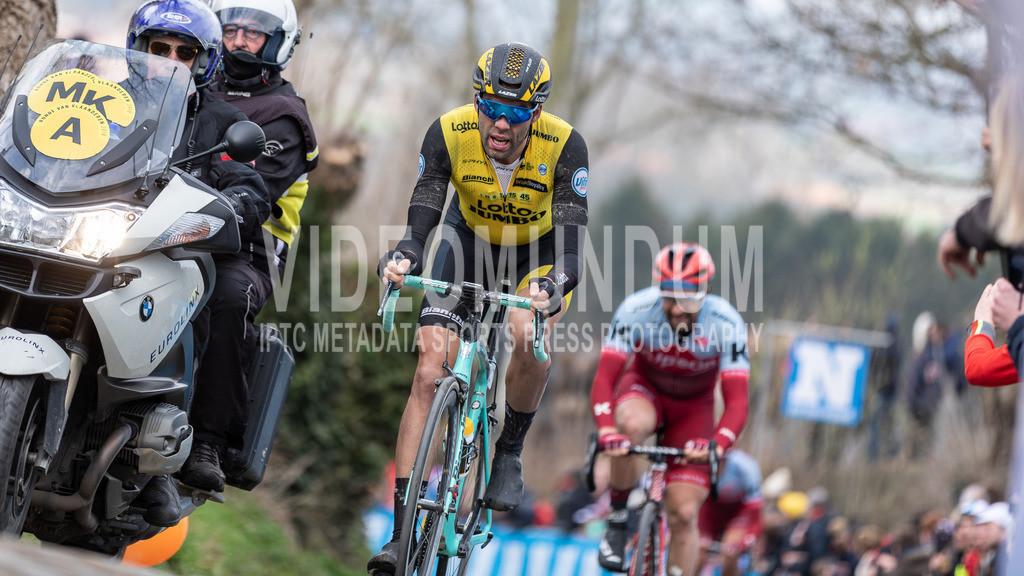 Oude Kwaremont, Belgium - April 1, 2018: Ronde van Vlaanderen, Men Elite | Oude Kwaremont, Belgium - April 1, 2018: Ronde van Vlaanderen, Men Elite, Photo: videomundum