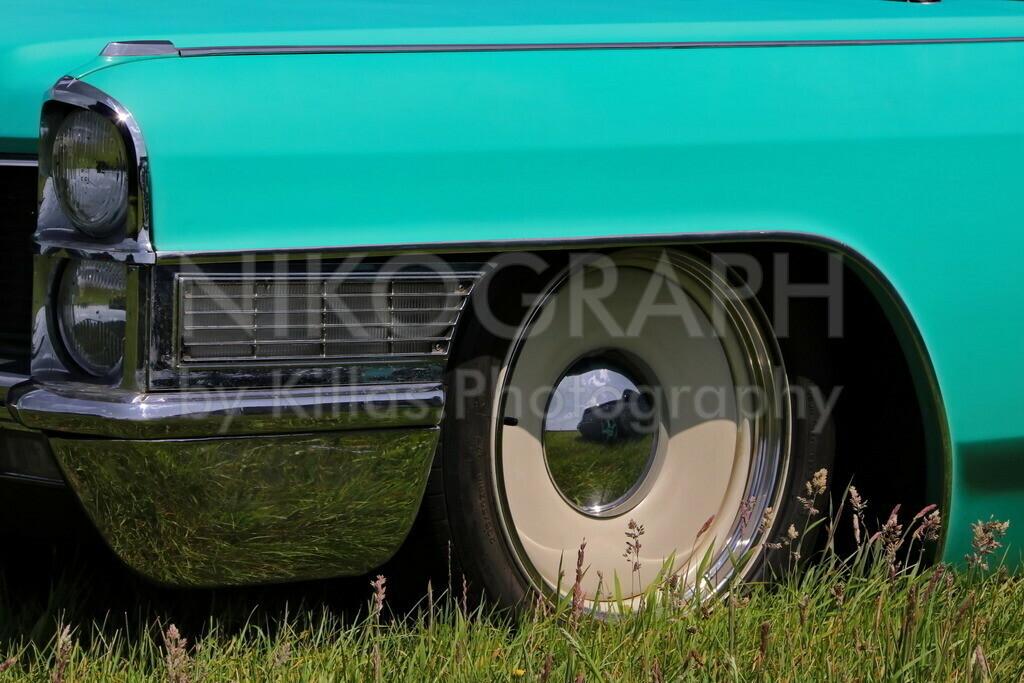 Cadillac Coupe DeVille | Ein Cadillac Coupe DeVille im Gras.