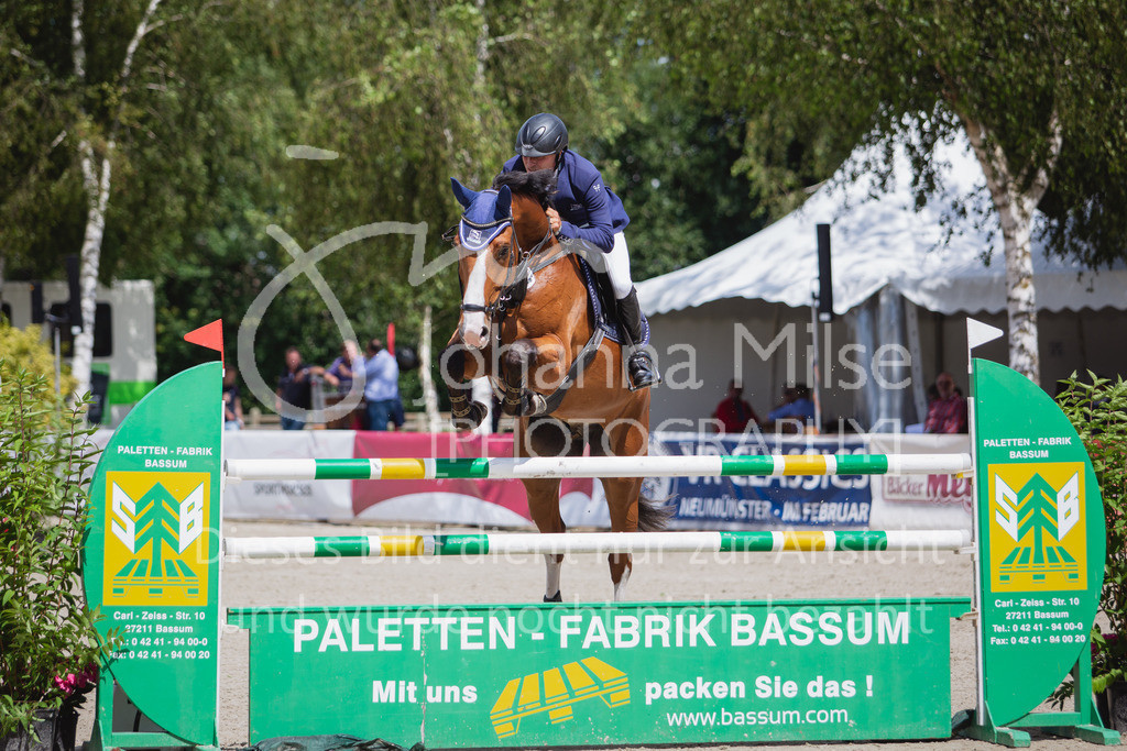 200726_Wohlde_M2-Springen-126   Late Entry Wohlde Pedersen Sporthorses 26.07.2020 Springprüfung Kl. M** 7jährig + ält. Pferde