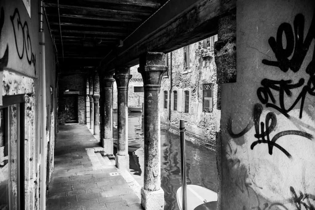Stille Kanäle in Venedig