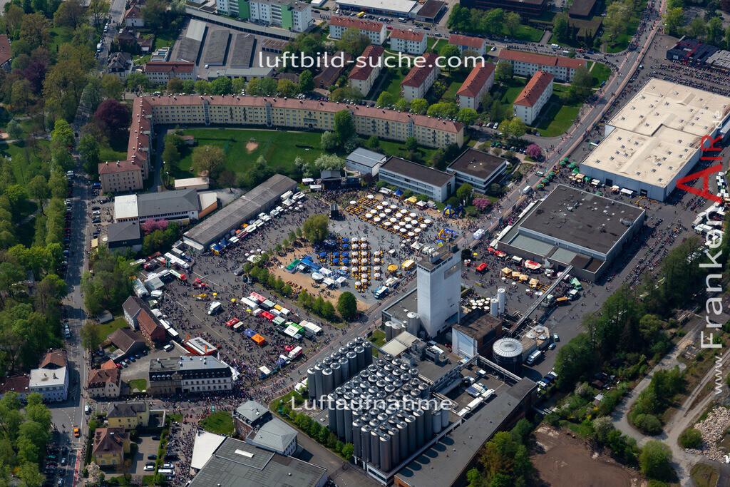 kulmbach-18-68 | aktuelles Luftbild von  Kulmbach - Luftaufnahme wurde 2018 von https://frankenair.de mittels Flugzeug (keine Drohne) erstellt.