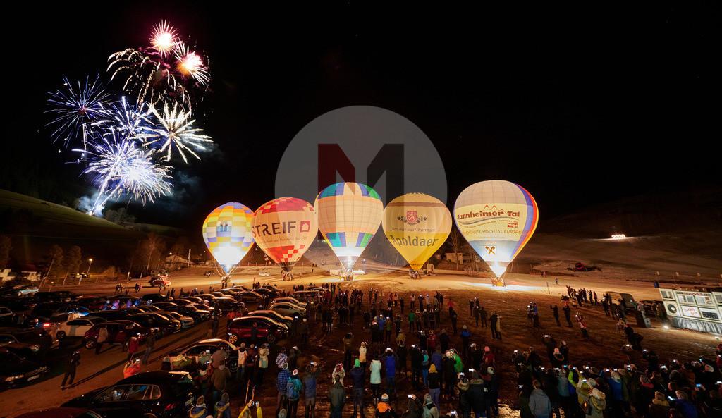Ballonglühen 2020 in Jungholz