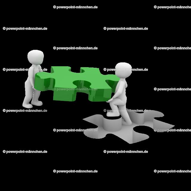 men carrying a puzzle piece (3) | https://3dman.eu jetzt 250 Bilder gratis sichern