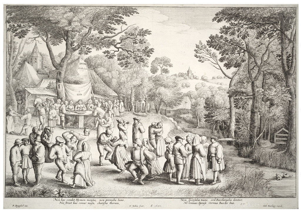 Wenceslas_Hollar_-_Wedding_feast__after_Breugel