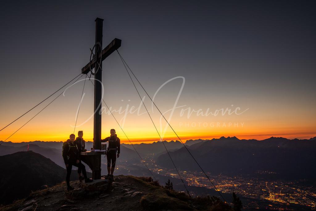 Sonnenuntergang | Sonnenuntergang auf der Viggarspitze