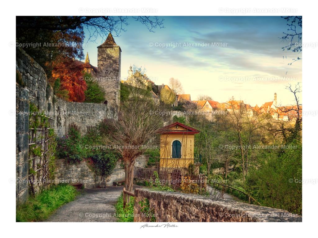 Rothenburg ob der Tauber No.99 | Dieses Werk zeigt die