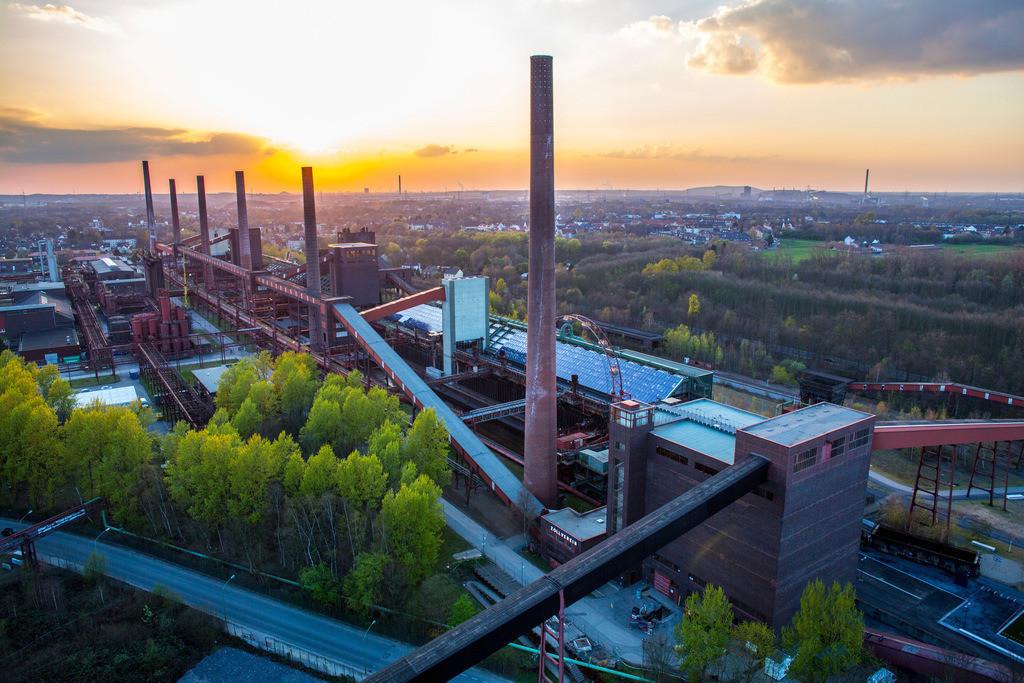 JT-140325-021 | Welterbe Zeche Zollverein, Kokerei Zollverein,