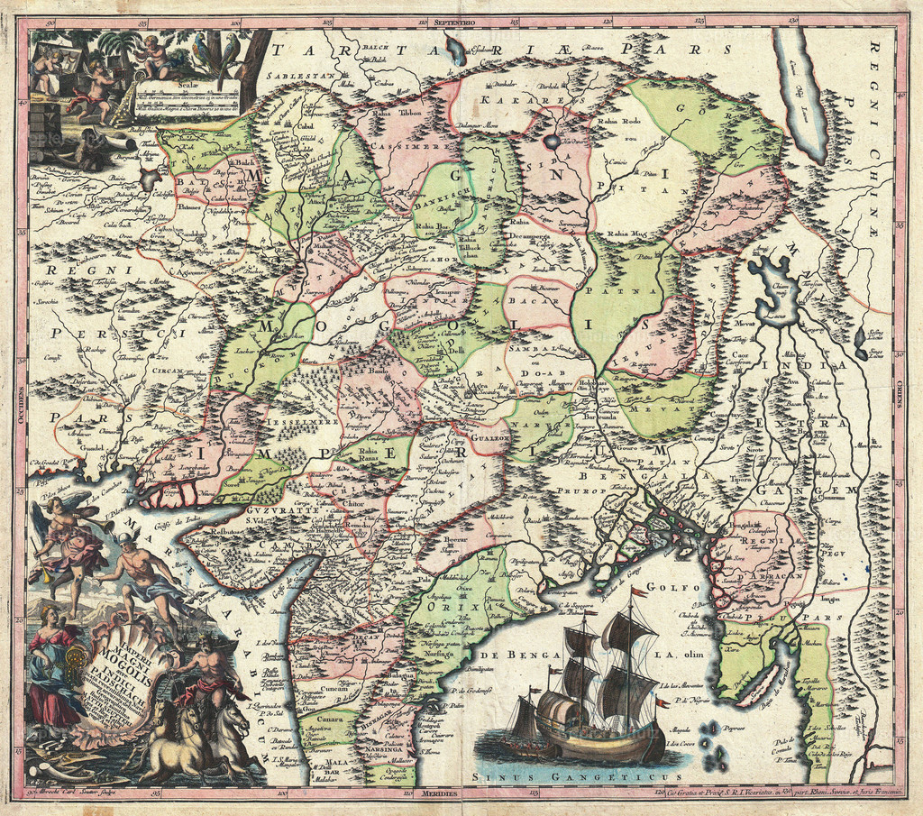 1740_Seutter_Map_of_India__Pakistan__Tibet_and_Afghanistan