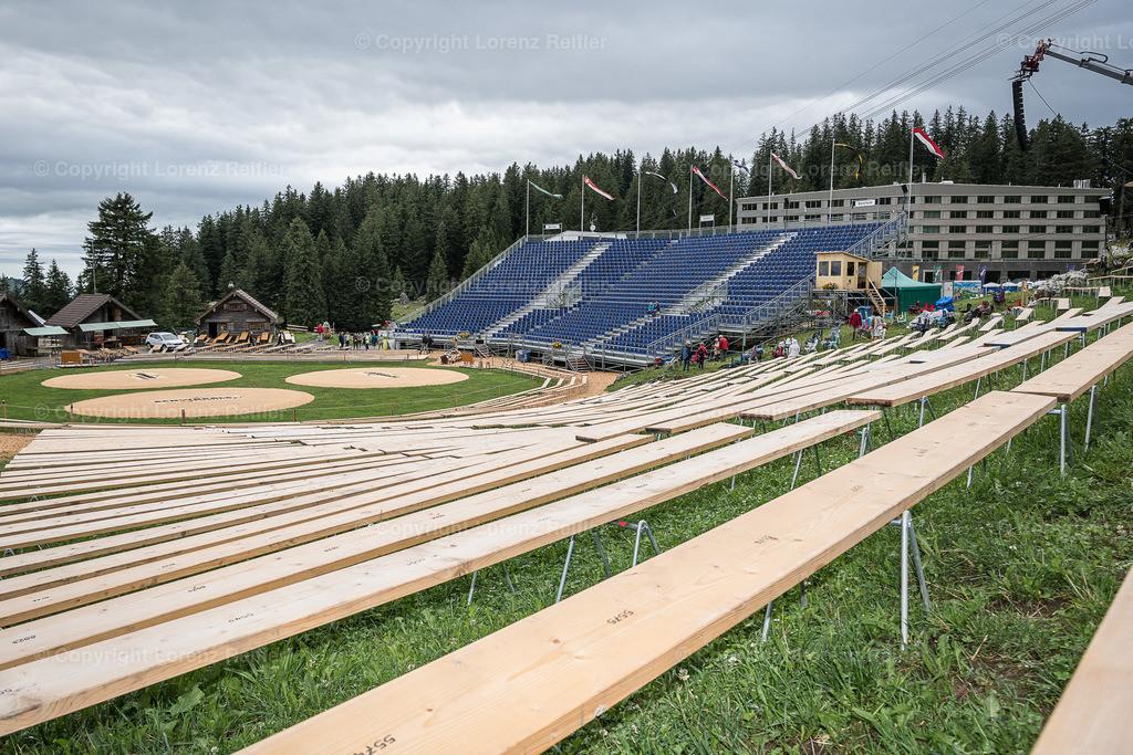 Schwingen -  Schwägalp-Schwinget 2019 | Schwägalp, 10.8.19, Schwingen - Schwägalp-Schwinget. Arena (Lorenz Reifler)