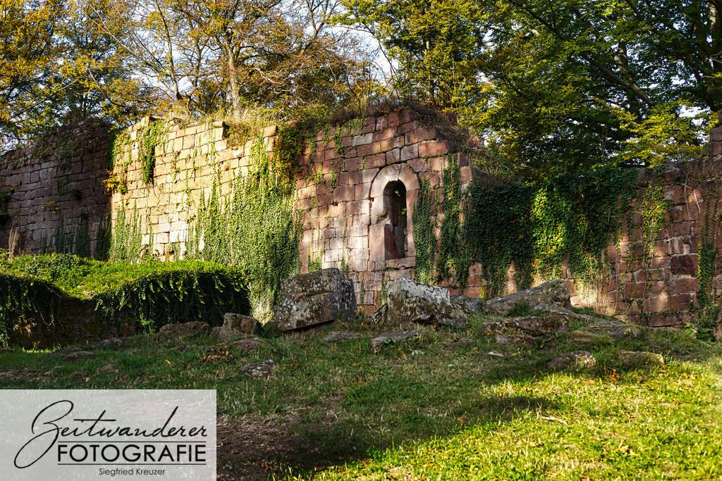 Burg Wildenberg Mauerabschnitt