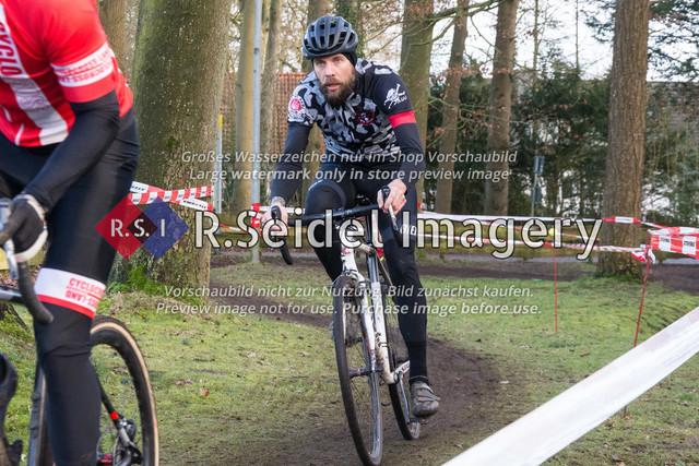 Radsport, Stevens Cyclocross Cup 2019, 10. Lauf (RSG Nordheide), Rennen 9 (Elite Herren + U23, Masters 2 / Elite Ü40 und Junioren U19), Buchholz i.d.N., 19.01.2020   Philipp Köhler (FC St. Pauli, #37, Elite)