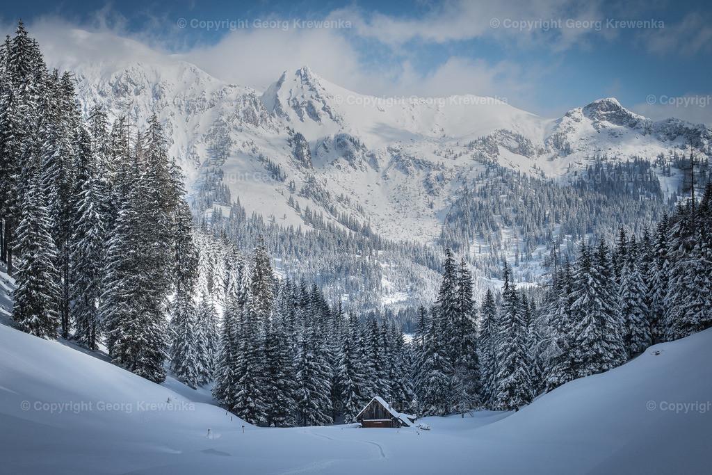 Winter im Gesäuse