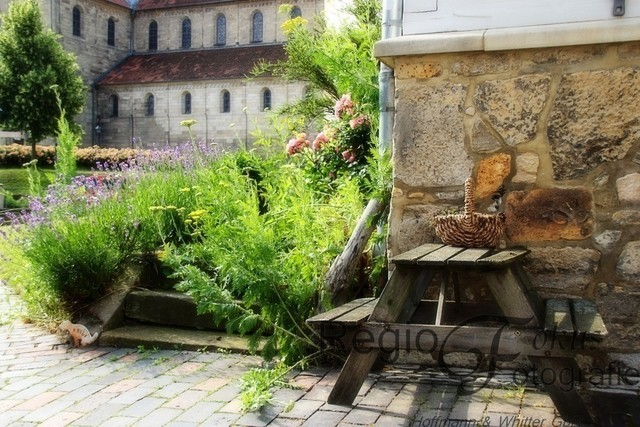 Idyllisch! | Romantische Ecke in der Nähe der Godehardikirche