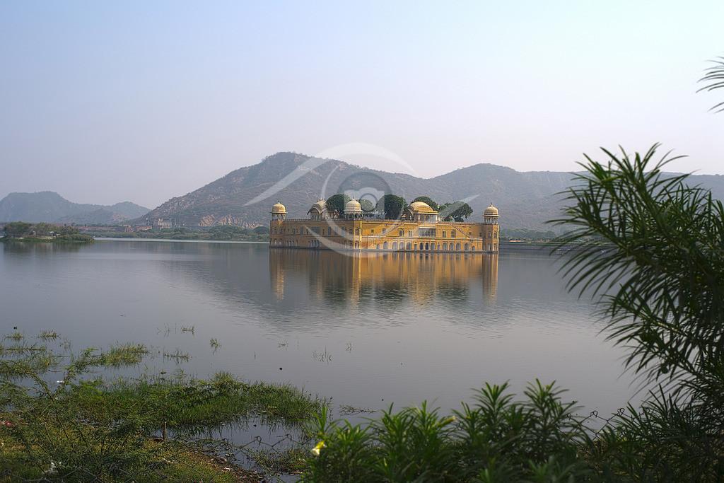 Indien_ Wasserpalast Jal Mahal 01
