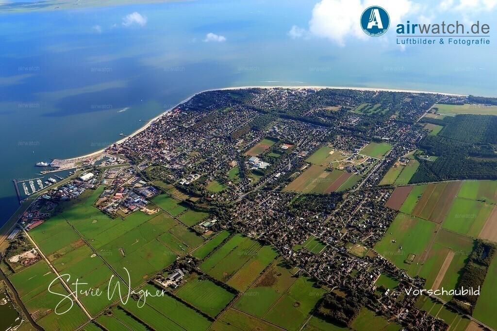 Luftbilder Nordsee, Föhr, Wyk auf Föhr | Nordsee, Föhr, Wyk auf Föhr - Grosse Digitalfotos gibt es auf www.airwatch.de/Photogalerie