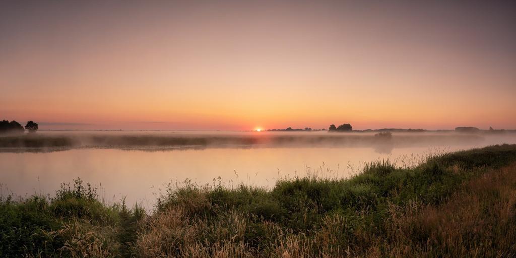 Sonnenaufgang an der Hamme | Morgens an der Hamme.