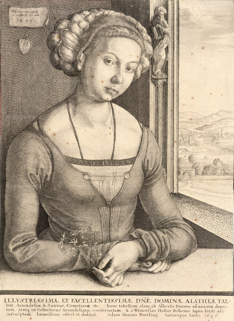 Wenceslas_Hollar_-_Woman_with_coiled_hair