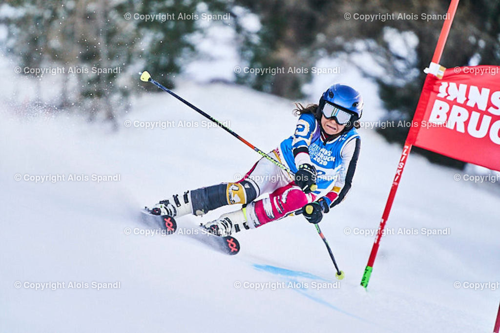 ALS5731_WWMG_GS-II_C | (C) FotoLois.com, Alois Spandl, WinterWorldMastersGames 2020 Innsbruck, Giant Slalom-II Gruppe C Damen, Patscherkofel Olympiaabfahrt, Mi 15. Jänner 2020.