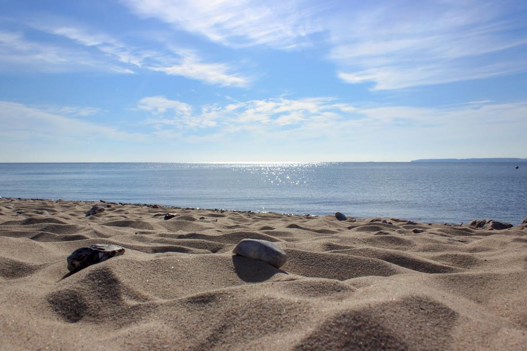 Strand in Langholz | Sandstrand in Langholz im Sommer