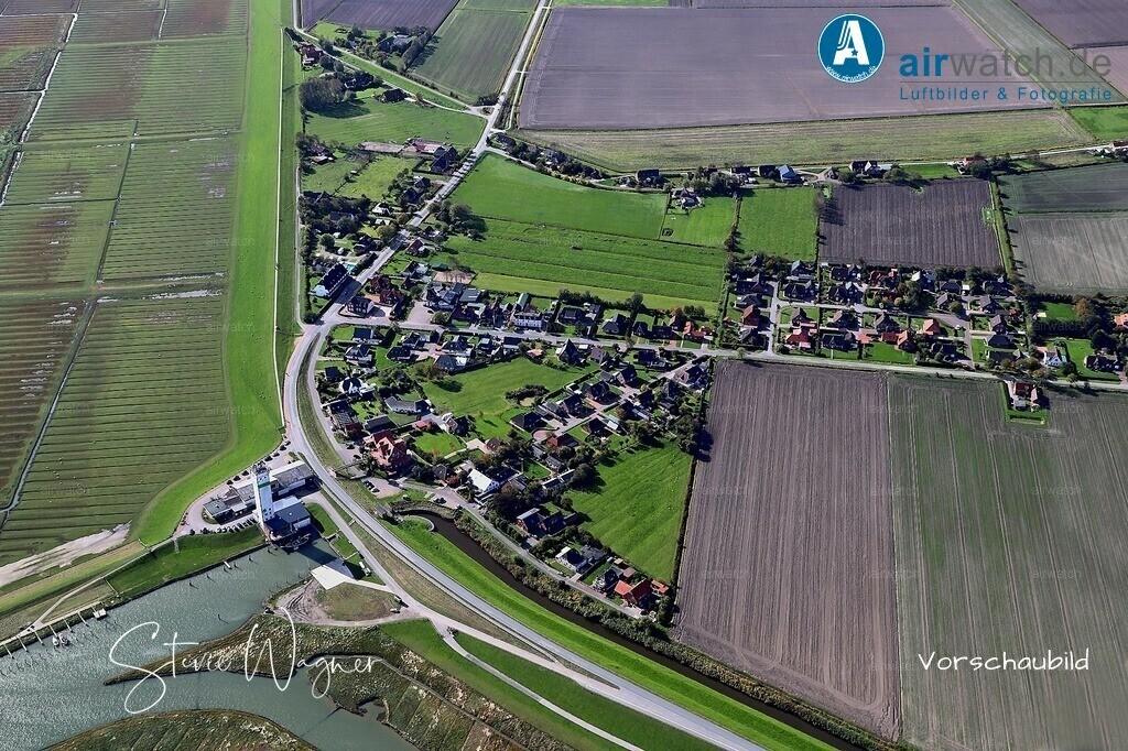 Luftbild Nordstrand, Suederhafen, Hammchausee, Eversbueller Chaussee | Nordsee, Nordstrand, Suederhafen • max. 6240 x 4160 pix - Luftbild, Luftaufnahme, aerophoto, Luftbildfotografie, Luftbilder