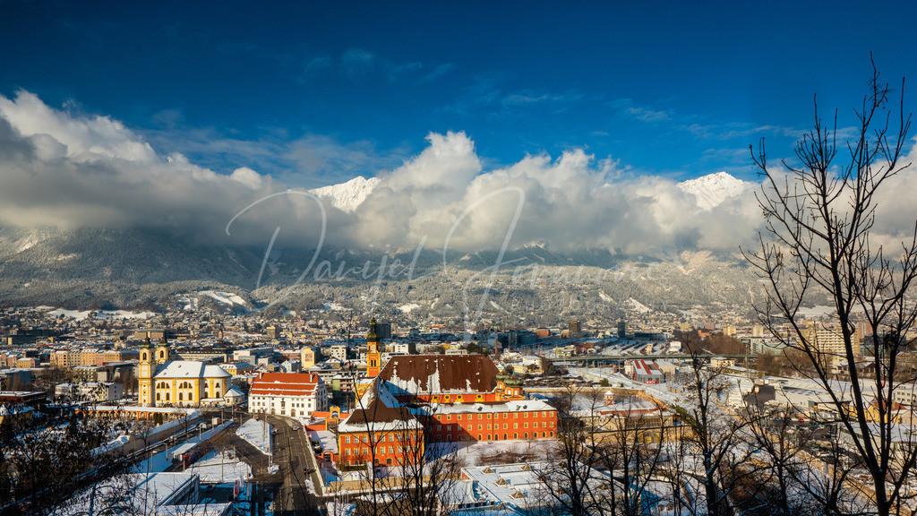 Innsbruck | Blick auf das winterliche Innsbruck