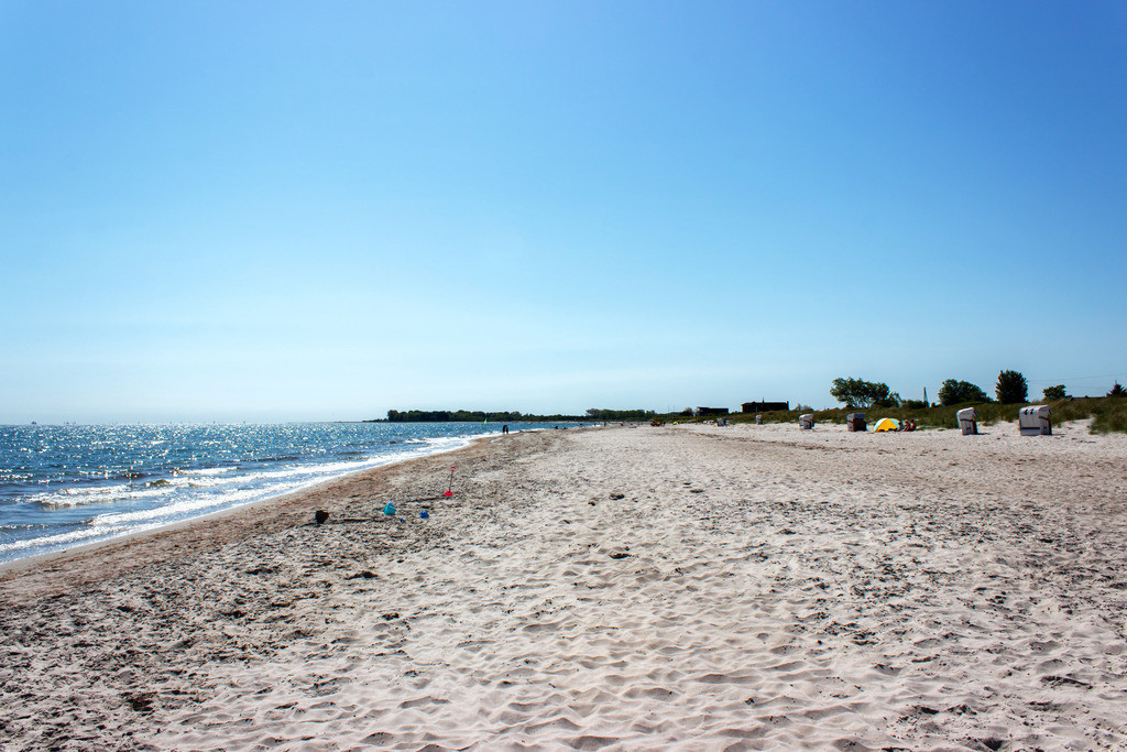 Strand in Kronsgaard | Sandstrand in Kronsgaard im Frühling