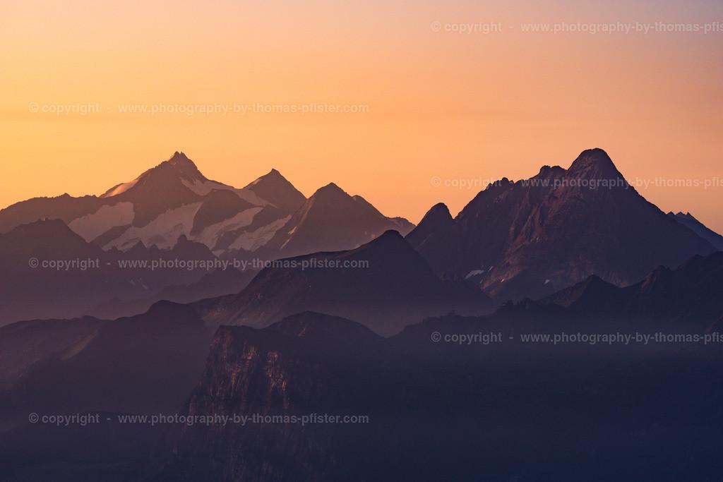 Zillertaler Alpen am Morgen-1