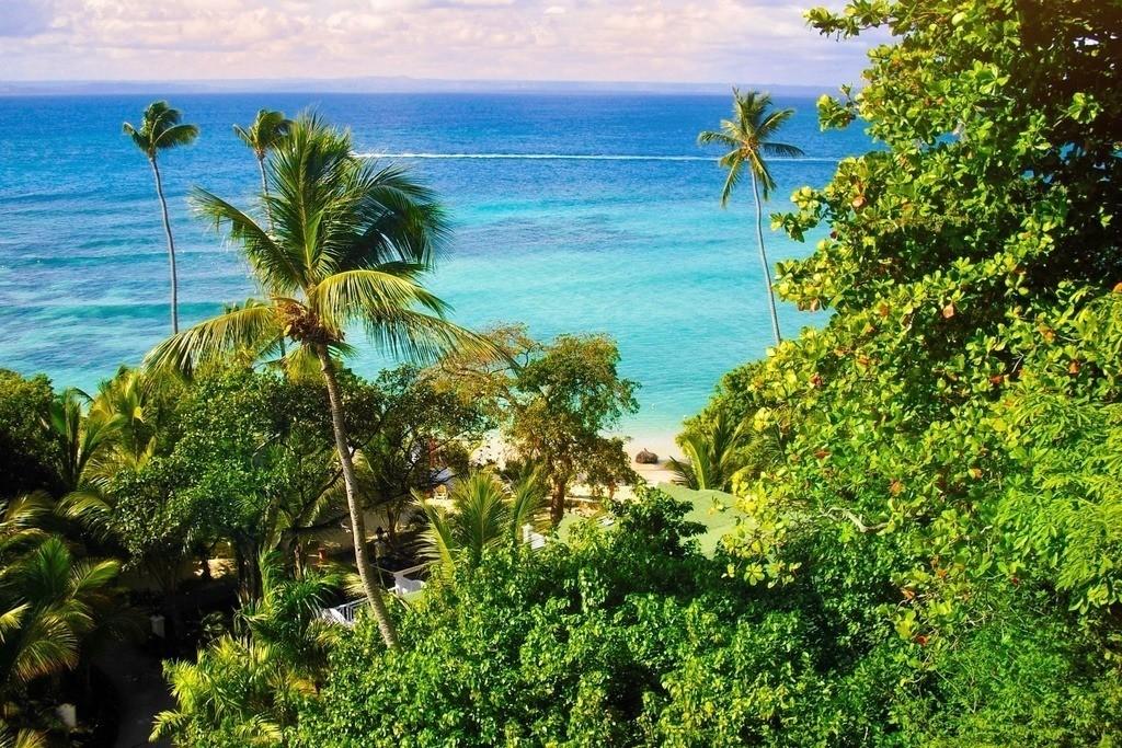 Cayo Levantado - Dominikanische Republik | Traumpanorama auf das türkisfarbene Meer