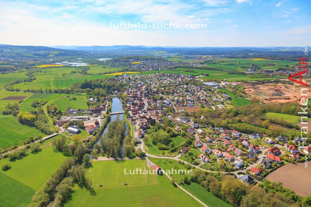 luftbild-marktzeuln-17-271   Luftbild von  Marktzeuln - Luftaufnahme wurde 2017 von https://frankenair.de mittels Flugzeug (keine Drohne) erstellt - die Geschenkidee